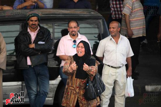 المواطنون الشرفاء امام نقابه الصحفيين (2)