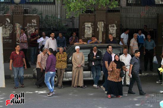 المواطنون الشرفاء امام نقابه الصحفيين (3)