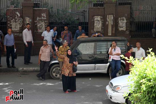 المواطنون الشرفاء امام نقابه الصحفيين (4)