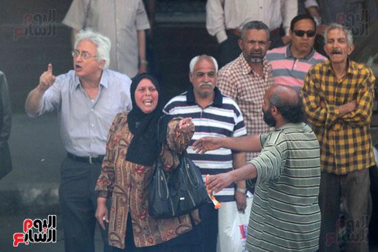 المواطنون الشرفاء امام نقابه الصحفيين (11)