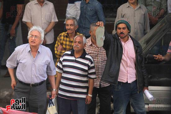 المواطنون الشرفاء امام نقابه الصحفيين (13)