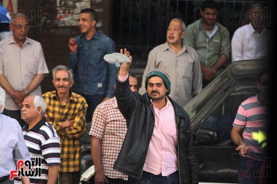 المواطنون الشرفاء امام نقابه الصحفيين (14)