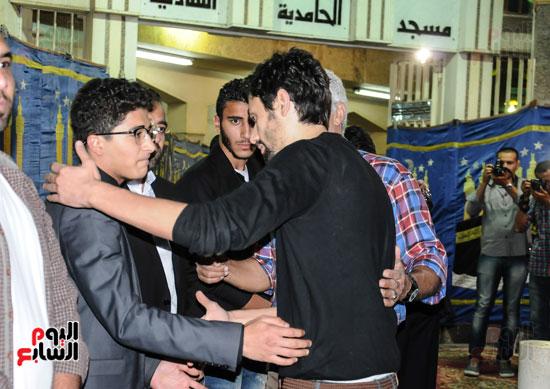 عزاء وائل نور وفاة وائل نور جنازة وائل نور (1)