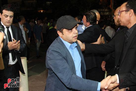 عزاء وائل نور وفاة وائل نور جنازة وائل نور (53)