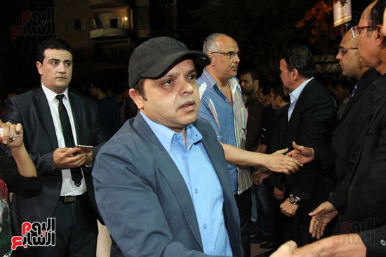 عزاء وائل نور وفاة وائل نور جنازة وائل نور (54)