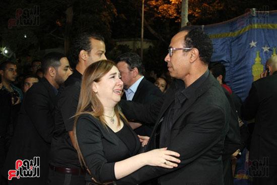 عزاء وائل نور وفاة وائل نور جنازة وائل نور (55)