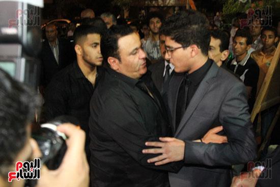 عزاء وائل نور وفاة وائل نور جنازة وائل نور (57)