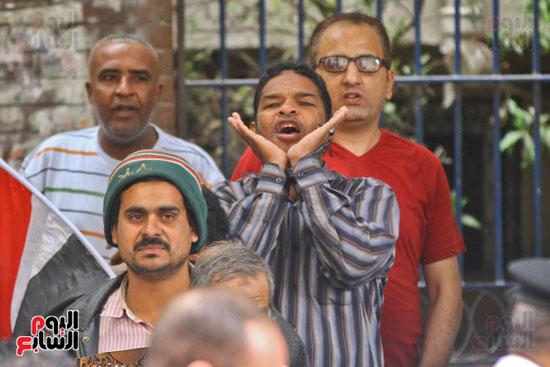 المواطنون الشرفاء يحاصرون نقابة الصحفيين (13)