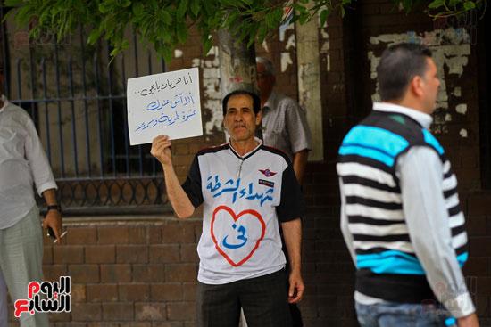 المواطنون الشرفاء يحاصرون نقابة الصحفيين (7)