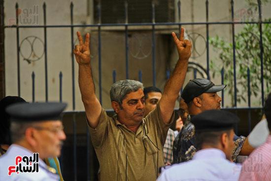 المواطنون الشرفاء يحاصرون نقابة الصحفيين (9)