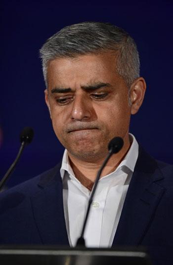 عمدة لندن الجديد صادق خان (1)