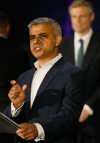 عمدة لندن الجديد صادق خان (3)