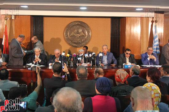 مؤتمر الاسرة الصحفية بالأهرام (1)