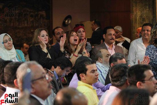 مؤتمر الاسرة الصحفية بالأهرام (13)