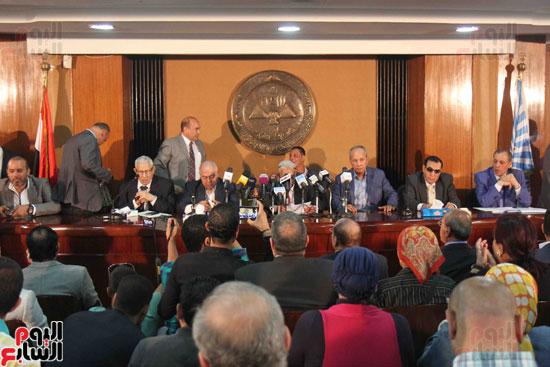 مؤتمر الاسرة الصحفية بالأهرام (2)