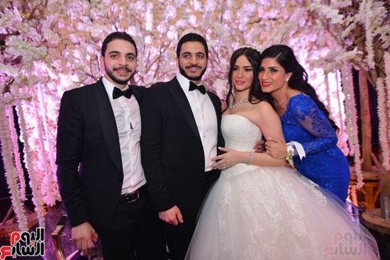 حفل-زفاف-كريم-السبكى-وشهد-رمزى-(9)