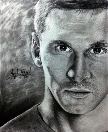 رسم الوجوه بالقلم الرصاص (2)