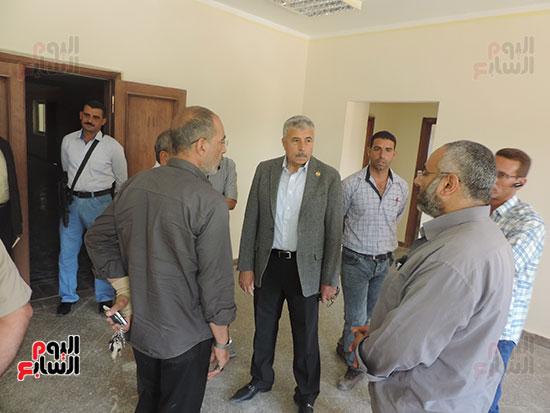 مدير أمن الغربية يتفقد مجمع كليات طنطا (3)