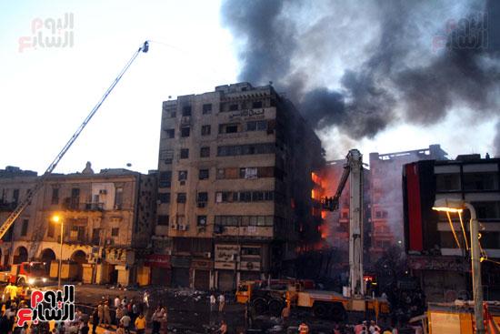 حريق الرويعي بالعتبة، الحماية المدنية، خسائر،  (3)