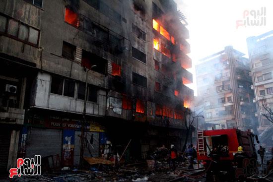 حريق الرويعي بالعتبة، الحماية المدنية، خسائر،  (5)