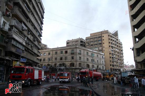 حريق الرويعي بالعتبة، الحماية المدنية، خسائر،  (10)