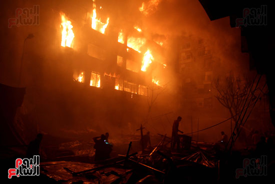 حريق الموسكى (10)