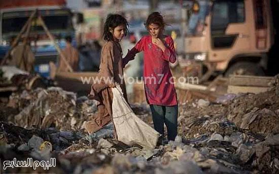 طفلتان من العشوائيات -اليوم السابع -6 -2015