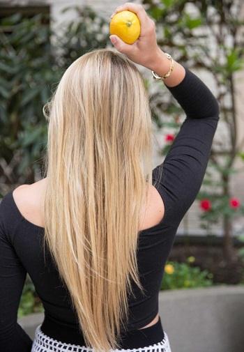 عصير الليمون مفيد لعلاج تقصف الشعر -اليوم السابع -6 -2015