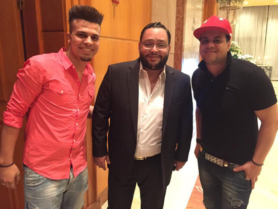 غاندى والبجنتل مع الفنان أحمد رزق -اليوم السابع -6 -2015