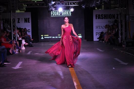 فستان سواريه بتصميم إغريقى أنيق  -اليوم السابع -6 -2015