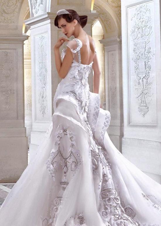فستان مميز بتفاصيل ملكية  -اليوم السابع -6 -2015