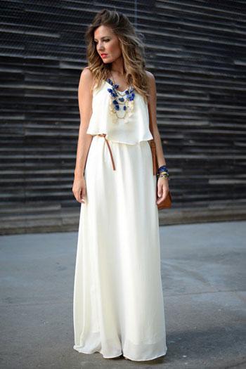 اشعري بالتميز مع فستان الابيض -اليوم السابع -6 -2015