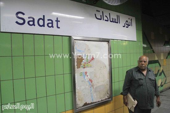 المواطنون فى انتظار القطار -اليوم السابع -6 -2015