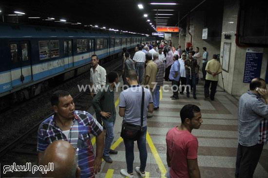توافد المواطنين على المحطة -اليوم السابع -6 -2015