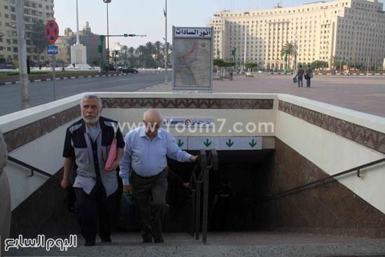 الهدوء يحيط بالمحطة -اليوم السابع -6 -2015