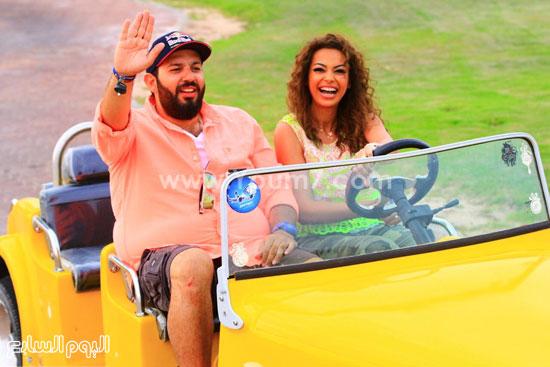 داليا وتامر بشير -اليوم السابع -6 -2015