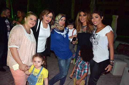 زيزى عادل وياسمين نيازى -اليوم السابع -6 -2015
