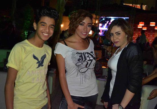 ياسمين وزيزى وسيف -اليوم السابع -6 -2015