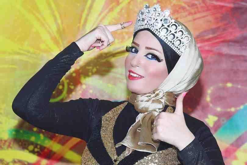أمنية فاروق ملكة جمال المحجبات عام 2012 -اليوم السابع -6 -2015