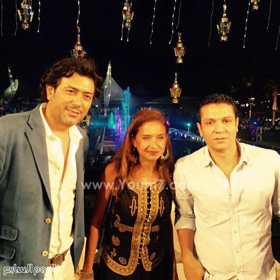 نيللى كريم وأحمد وفيق وإيهاب جلال -اليوم السابع -6 -2015