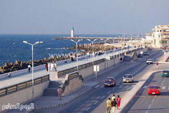 مصيف رأس البر يبدو من خلال منظر جمالى خلاب -اليوم السابع -6 -2015