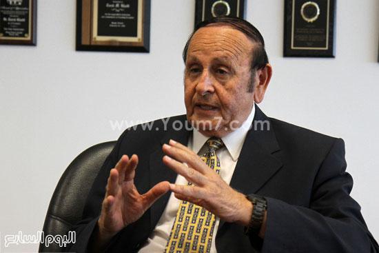 الدكتور طارق خليل رئيس جامعة النيل الأهلية -اليوم السابع -6 -2015