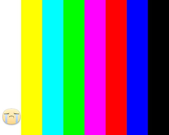 صورة انقطاع البث التليفزيونى -اليوم السابع -6 -2015