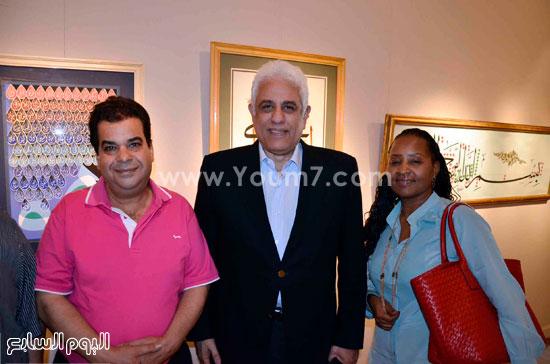 حسام بدراوى ويتوسط نيللى ومحسن البورسعيدى -اليوم السابع -6 -2015