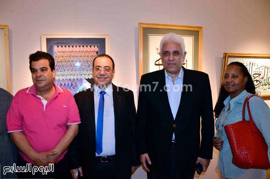 حسام بدراوى ويتوسط نيللى ومحسن البورسعيدى وخضير البورسعيدى -اليوم السابع -6 -2015