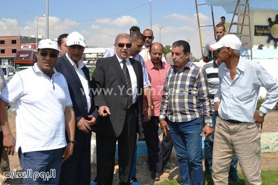 مدخل إسماعيلية القاهرة بمنطقة الكيلو4,5  -اليوم السابع -6 -2015