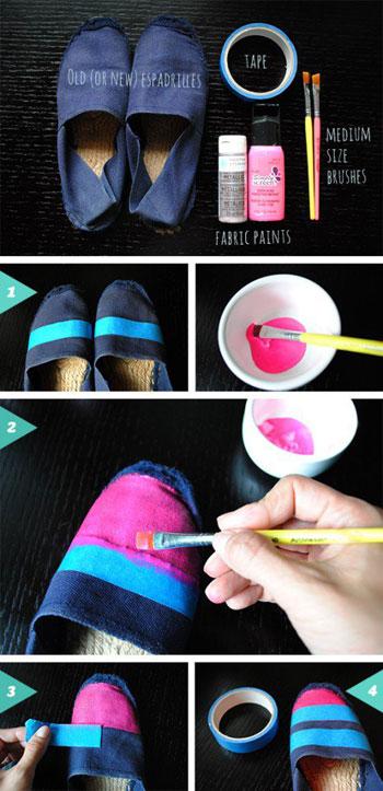 تلوين الحذاء بألوان الميه -اليوم السابع -6 -2015