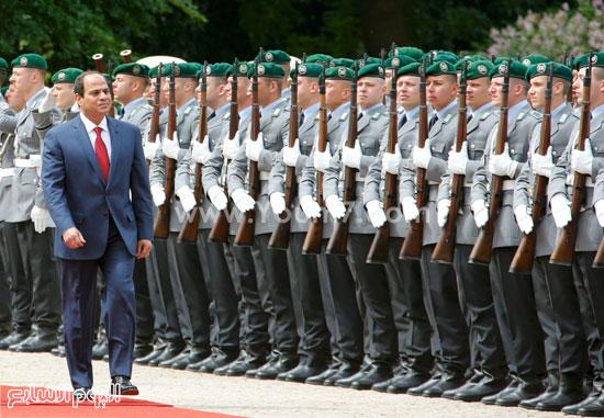 السيسي ألمانيا: العظيم قاوم الفاشية