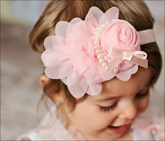 اللون الوردى فى رابطة رأس من الشيفون -اليوم السابع -6 -2015