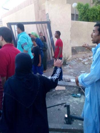 سيارة توزيع كراتين رمضان دهست المواطنين دون قصد  -اليوم السابع -6 -2015